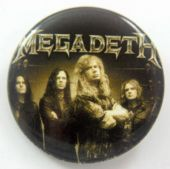 Megadeth - 'Group Sepia' 32mm Badge
